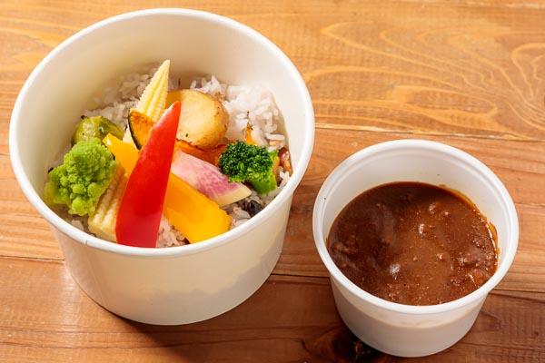 彩りグリル野菜カレー