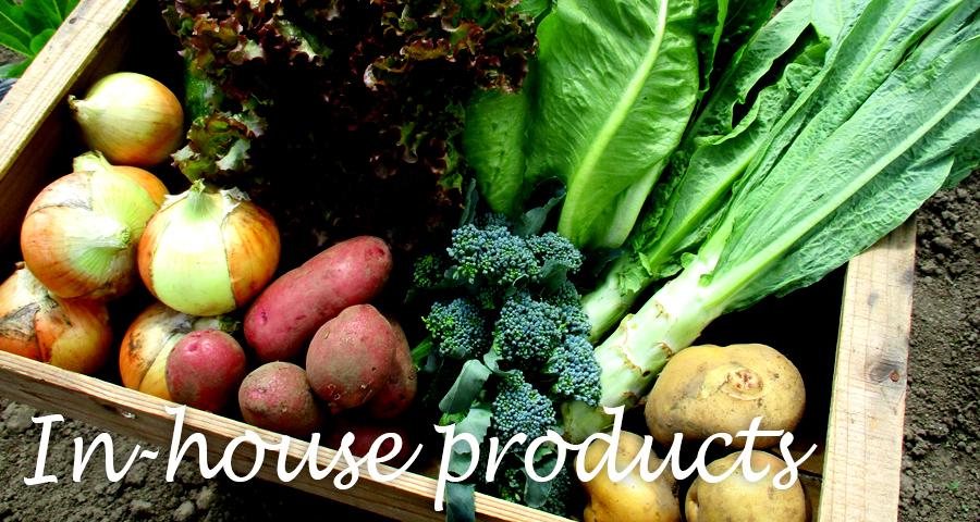 『やさいの王様モール』やさいの王様オリジナルドレッシングや、自社農園で採れた野菜やお米の販売